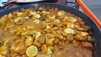 Cuisine à domicile d'un Colombo de Poulet pour 80 personnes à Autrêches (60350) élaborer par Le Délice du Soleil sur place