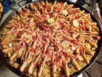 Traiteur de paella cuisiné sur place, aux produits frais et épices maison à Rouen (76)