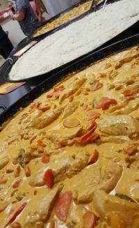 Le Poulet Madras ; Un nouveau plat unique réaliser par nos soins qui saura séduire vos papilles !